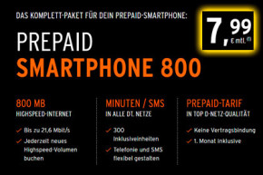otelo Smartphone 400 Tarif wird Smartphone 800 Tarif – Gute Preisleistung inklusive