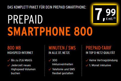 otelo - Smartphone 800 Tarif