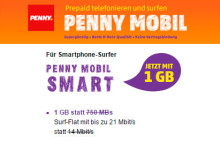 Penny Mobil und ja! Mobil - 1 GB