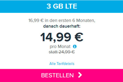 Tarifhaus 3 Gb LTE