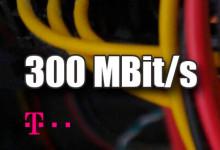 Telekom - 300 MBit/s
