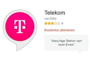 Telekom Cloud bekommt eigenen Amazon Alexa Skill