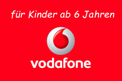vodafone red kids sim karte f r kinder ab 6 jahren. Black Bedroom Furniture Sets. Home Design Ideas
