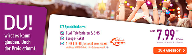 Yourfone LTE Special