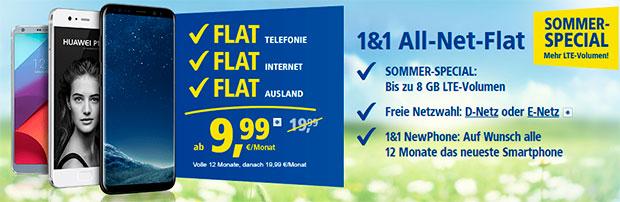 1&1 AllnetFlat - 9,99