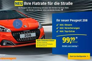1&1 - Peugeot Angebot