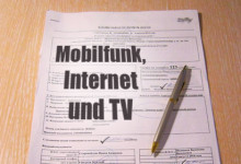 Mobilfunk, Internet, TV