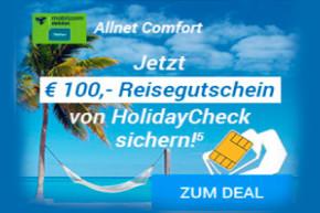 Sparhandy Deal für Kurzentschlossene – 1 GB LTE für 5,99 Euro mit 100 Euro Gutschein