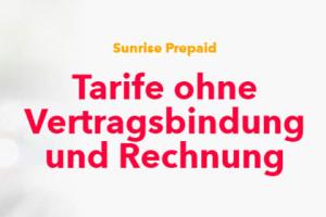 Sunrise Prepaid