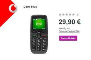 Vodafone Zuhause Festnetzflat – Überholtes Tarifmodell zum Aktionspreis