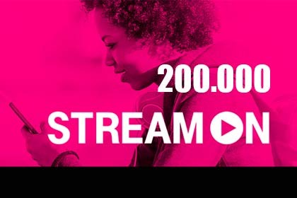 200.000 - Stream On