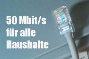 Schnelles Internet für jeden einzelnen Haushalt – Merkel hält an Breitbandziel 2018 fest