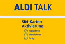 Aldi SIM-Karten
