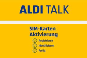 Identifikationspflicht für Prepaid Karten – Umfangreiche Lösung bei ALDI