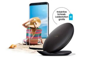 Samsung – Kabellose Schnellladestation gratis zum Galaxy S8