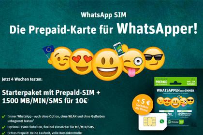 WhatsApp SIM Tarif 1500
