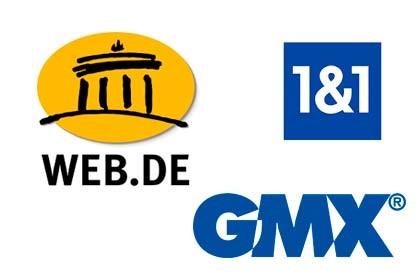 1&1 - GMX web.de