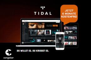 TIDAL und congstar bieten neue congstar Musik Option