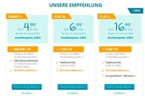 discoPLUS mit neuen Tarifen im o2 Netz ab 4,99 Euro – Bis zu 5GB LTE Volumen