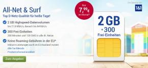 GMX und Web.de – Tarife im Vodafone Netz wieder da, aber mit deutlichen Nachteilen