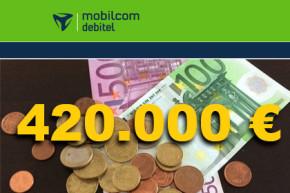 420.000 Euro an die Staatskasse – Unrechtsgewinne bei mobilcom-debitel werden abgeschöpft