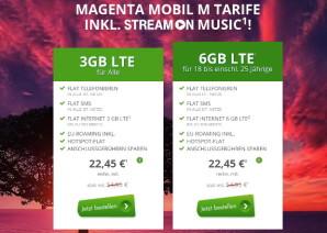 Modeo bietet Magenta Mobil M inklusive StreamOn zum halben Preis