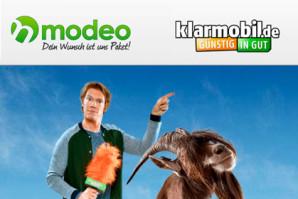 Modeo Deal – 2 GB Datenvolumen, 100 SMS und 100 Minuten im Vodafone Netz nur 6,95 Euro
