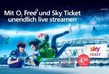 o2 Free Sky Ticket