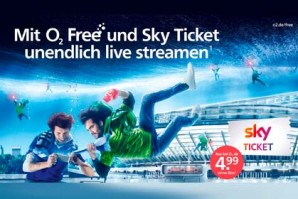o2 verlängert Sky Ticket Aktionen für neue und bestehende Kunden