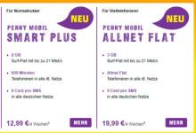 PennyMobil - neue Tarife