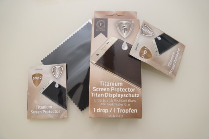 Flüssiger Displayschutz von SP Titanium