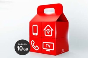 Vodafone – 10 GB Zusatzvolumen für neue Giga Kombi Kunden