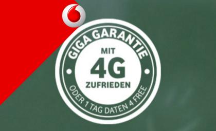 GiGaInternet als Garantie für Leitung bei vodafone