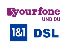 1&1 DSL ab sofort bei yourfone im Shop mit persönlicher Beratung buchbar