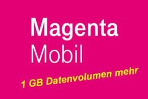 MagentaMobil Bestandkunden bekommen durch Trick auch  1 GB Datenvolumen mehr