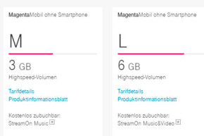 Mehr Datenvolumen für MagentaMobil Bestandkunden