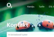 o2 - Kontakt