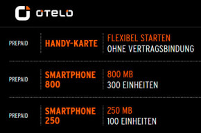 otelo – Deutliche Erhöhung bei Datenvolumen für neue und bestehende Kunden