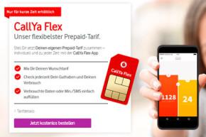 Vodafone CallYa Flex – Der digitale Prepaid Tarif aus der App