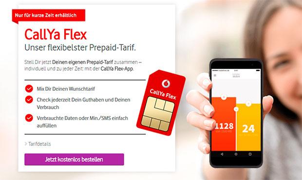 Vodafone - CallYa Flex