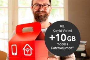 Deal – Bild am Sonntag und Vodafone bieten Leservorteil bis 100 Euro für Giga Kombi