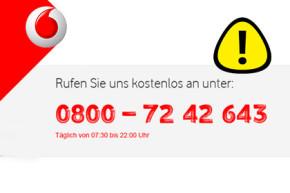 Betrüger geben sich als Vodafone Hotline aus