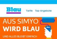 Blau und Simyo