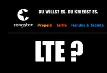 Congstar - LTE