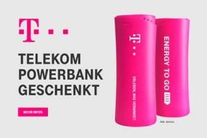 Gratis Powerbank für Telekom Kunden – Der aktuielle Telekom Mega Deal