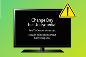 Unitymedia Changeday – TV Chaosin Hessenund BW verschoben