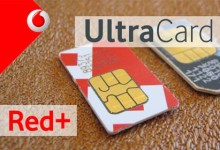 Vodafone - UltraCard und Red+