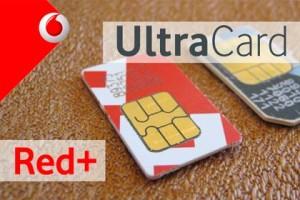 Vodafone - UltraCard und Red+