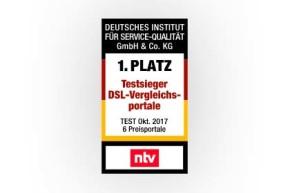 DISQ Studie – Das beste DSL Vergleichsportal Deutschlands