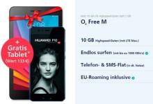 o2 Free M - Huawei P10 + Gratis Tablet